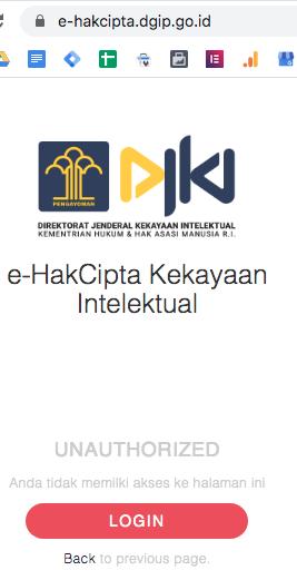 pendaftaran hki online hak cipta