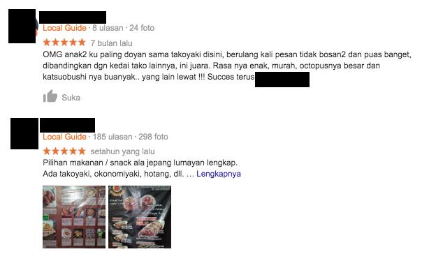 google my business review berhasil